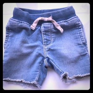 Toddler Boy Pull On Jean Shorts